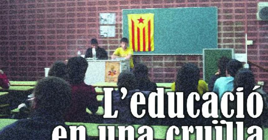 L'educació en una cruïlla
