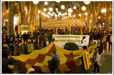 La Diada de Mallorca 2011, a vessar d'actes reivindicatius en plena alarma social i nacional
