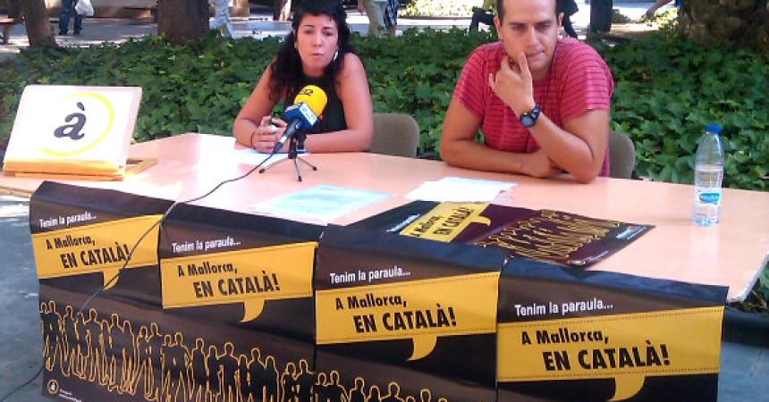 'Tenim la paraula: a Mallorca, en català', resposta transversal a les primeres amenaces de Bauzá
