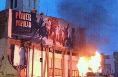 Dos dies de protestes contra el desallotjament de Can Vies