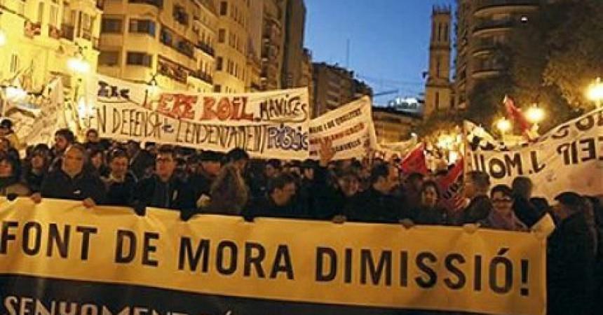 Font de Mora proposa suprimir l'escola en valencià