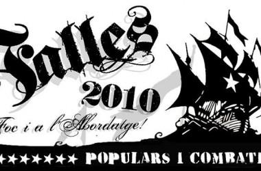 Les 'albaes' fan el tret d'eixida de les Falles Populars i Combatives de 2010