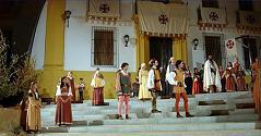 Representació de 'Fuente Ovejuna' al poble que dóna nom a l'obra