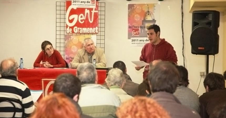 Gent de Gramenet presenta la seva llista