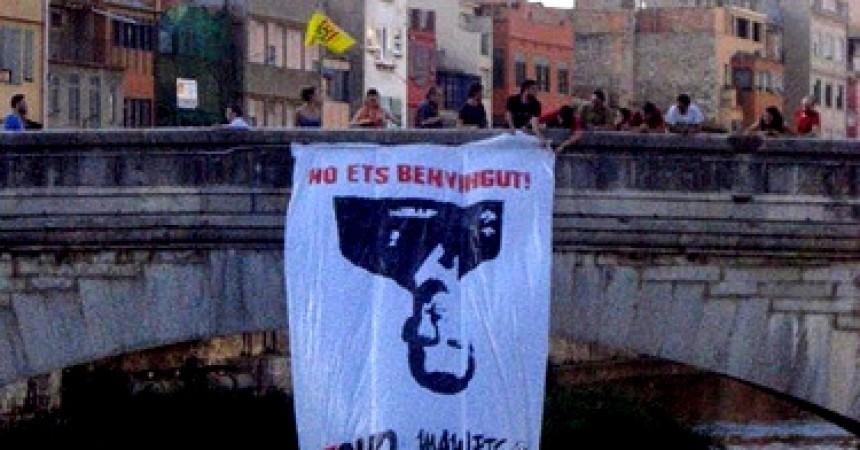 Felip de Borbó visita Girona de nou i es repeteix l'estat d'excepció