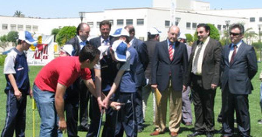 Una escola de golf sobre sòl públic a Elx
