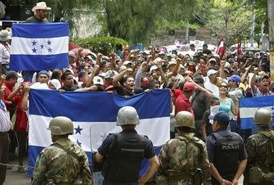 Mobilització de la resistència al cop d'Estat a Hondures