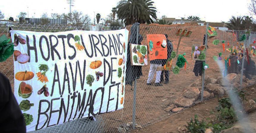 Un projecte d'il·lusió i lluita veïnal paralitzat pel BBVA i l'ajuntament de València.