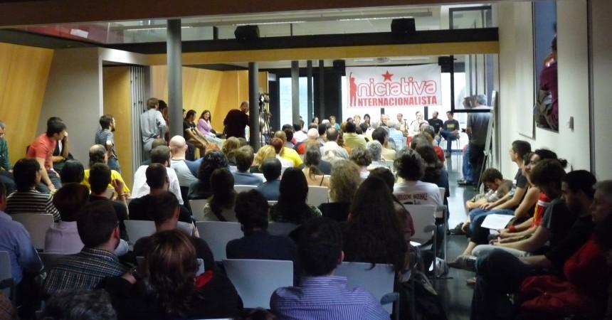 Es presenta a Barcelona la candidatura Iniciativa Internacionalista a les eleccions europees