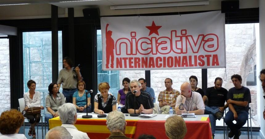 Iniciativa Internacionalista pot anar a Brussel·les
