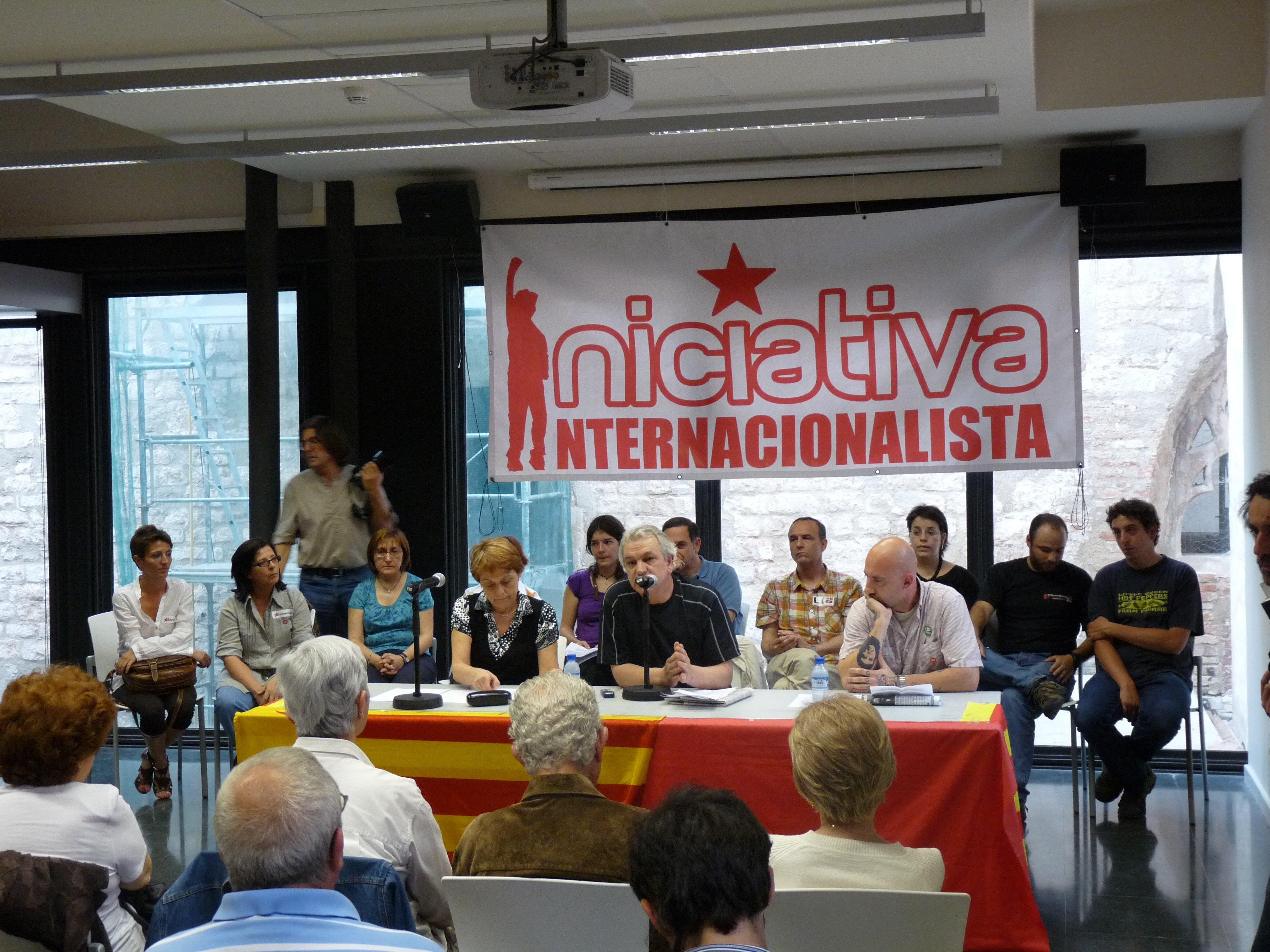Presentació de la candidatura a Barcelona el divendres 8 de maig