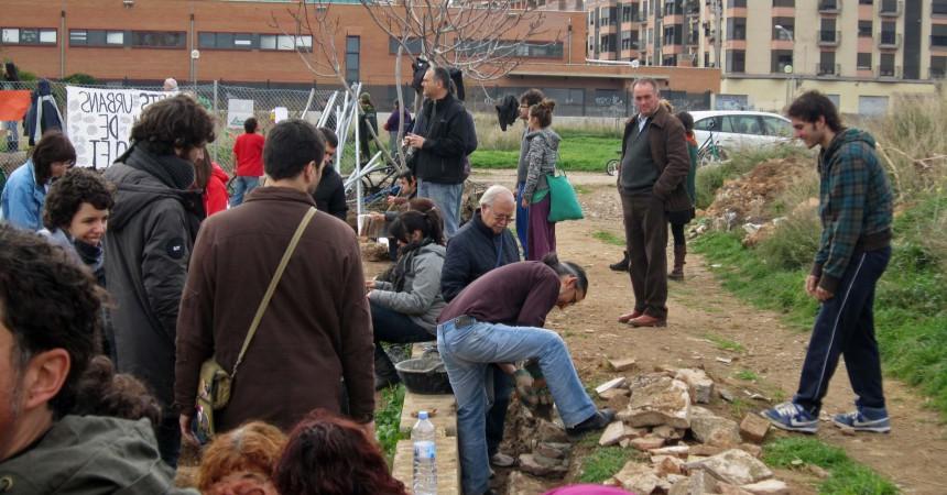 Els veïns de Benimaclet recuperen els horts urbans