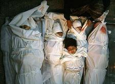 Infants assassinats a Gaza - Foto: www.kaosenlared.net