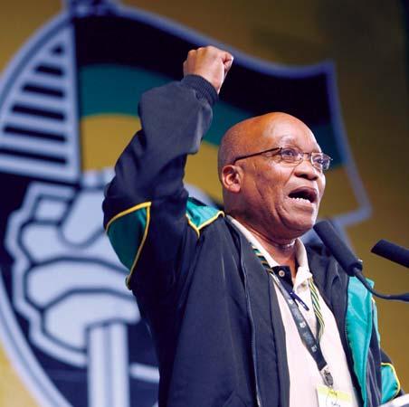 Jacob Zuma, nou president de Sud-Àfrica