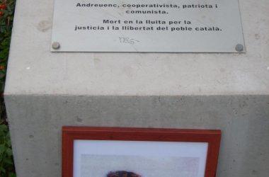 Emotiu homenatge a Jordi Martínez de Foix