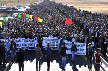 Massiva i històrica vaga de fam al Kurdistan per la llengua kurda i la llibertat
