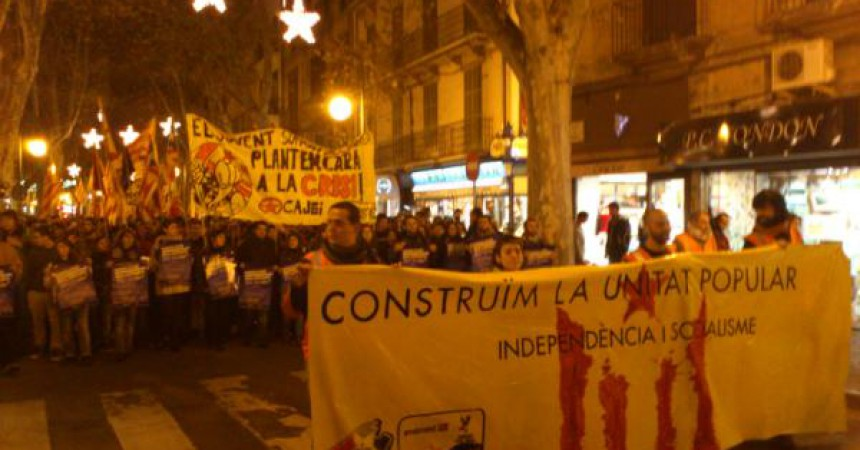 La Diada de Mallorca, encapçalada pels 4 independentistes represaliats