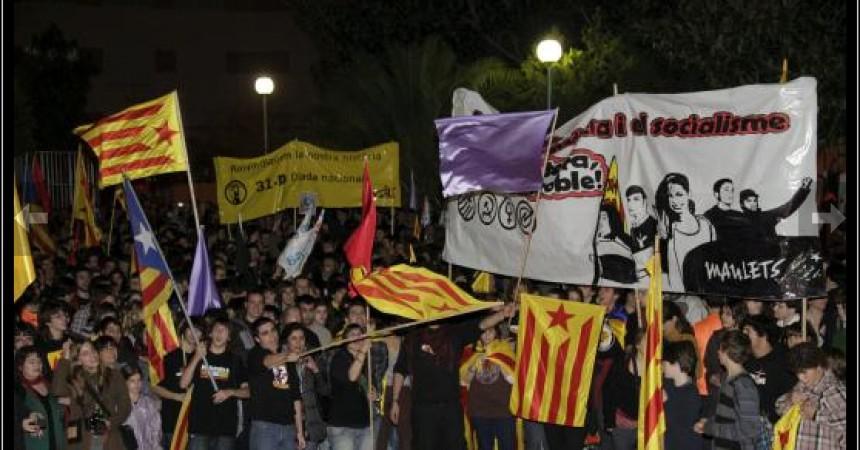 30-D: L'Esquerra Independentista de Mallorca lidera una mobilització sense precedents