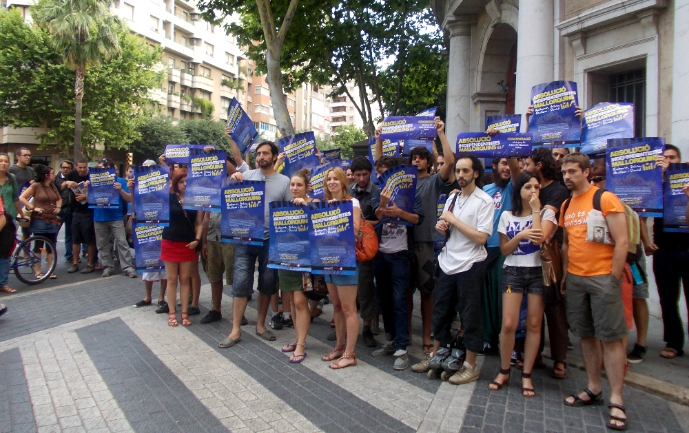 El passat 18 de juny es va fer el judici contar els independentistes