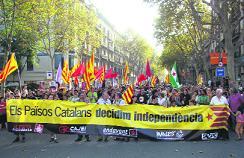 Manifestació de l'11 de Setembre de l'any passat a Barcelona