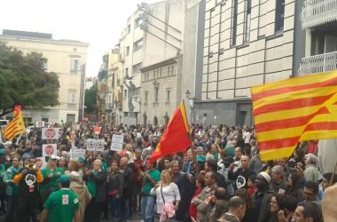1.500 persones en defensa dels serveis públics a Mataró