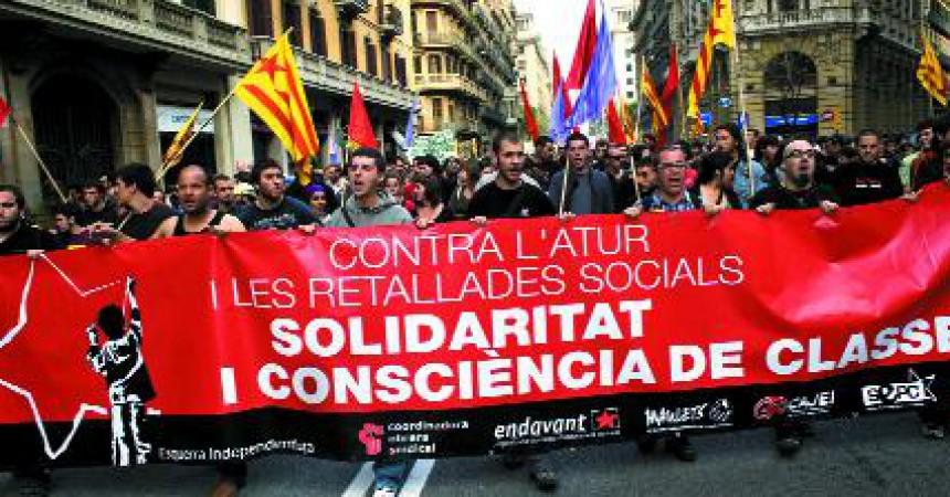 El sindicalisme combatiu proposa unitat d'acció i avançar cap a una vaga general