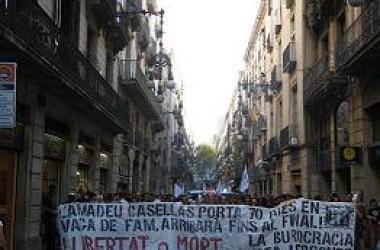 Fa més de 90 dies que Amadeu Casellas està en vaga de fam