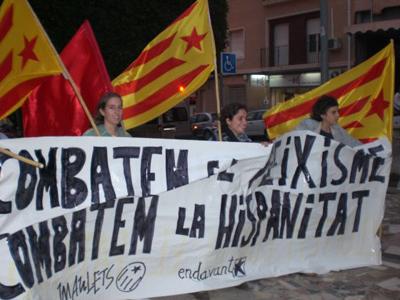Manifestació antifeixista al País Valencià
