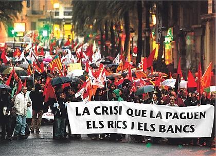 manifestació a València el dissabte 28
