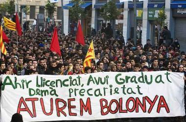 La crisi i Bolonya agreugen la situació de l'ensenyament públic