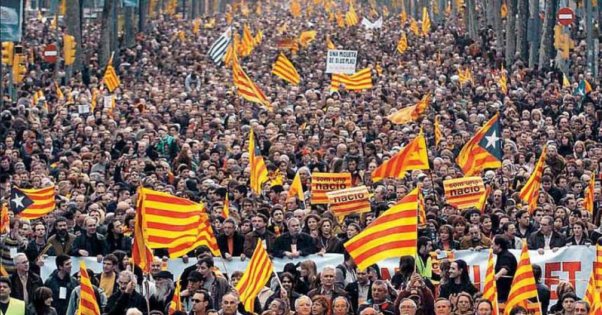 Un any després de la manifestació independentista més gran de la Història