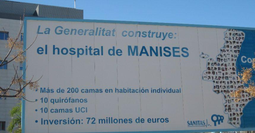 Hospital de Manises: al 'Model Alzira' li tornen a fallar els comptes