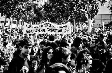 Mil persones a la manifestació de Manresa