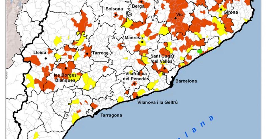 El mapa de les consultes