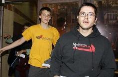 Marc i Joaquim sortint de l'Audiència Nacional