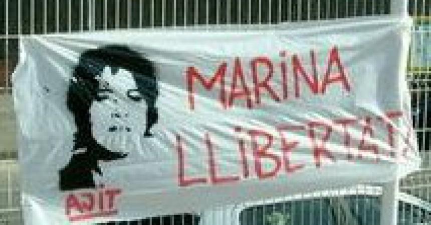 Jutjada a París la presonera política Marina Bernadó