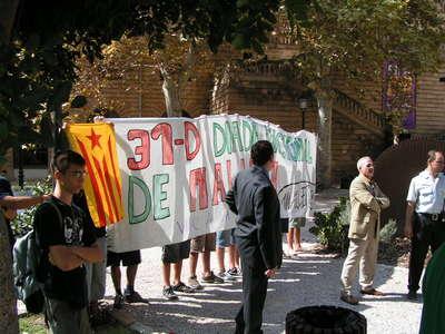 """Acció de Maulets del 2006 contra els actes de la """"Falsa Diada"""""""