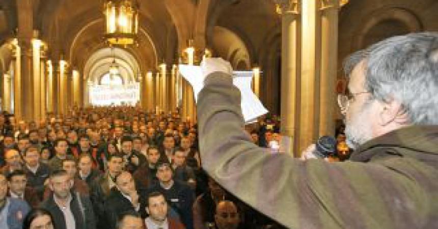 """""""Hem de retornar el sindicalisme als barris i als pobles"""""""