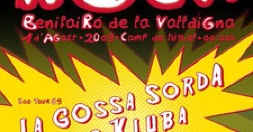 La Gossa Sorda i Benimaclet Klub Ska, plats forts del Més Que Rock