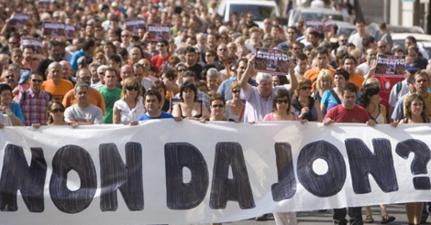 Gara confirma la guerra bruta contra el militant abertzale Jon Anza