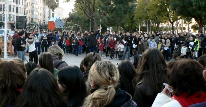 Mobilització a Montcada contra les retallades socials