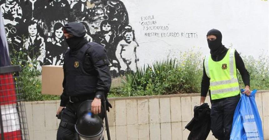 En llibertat els cinc presos anarquistes de Sabadell i Avinyonet del Penedès