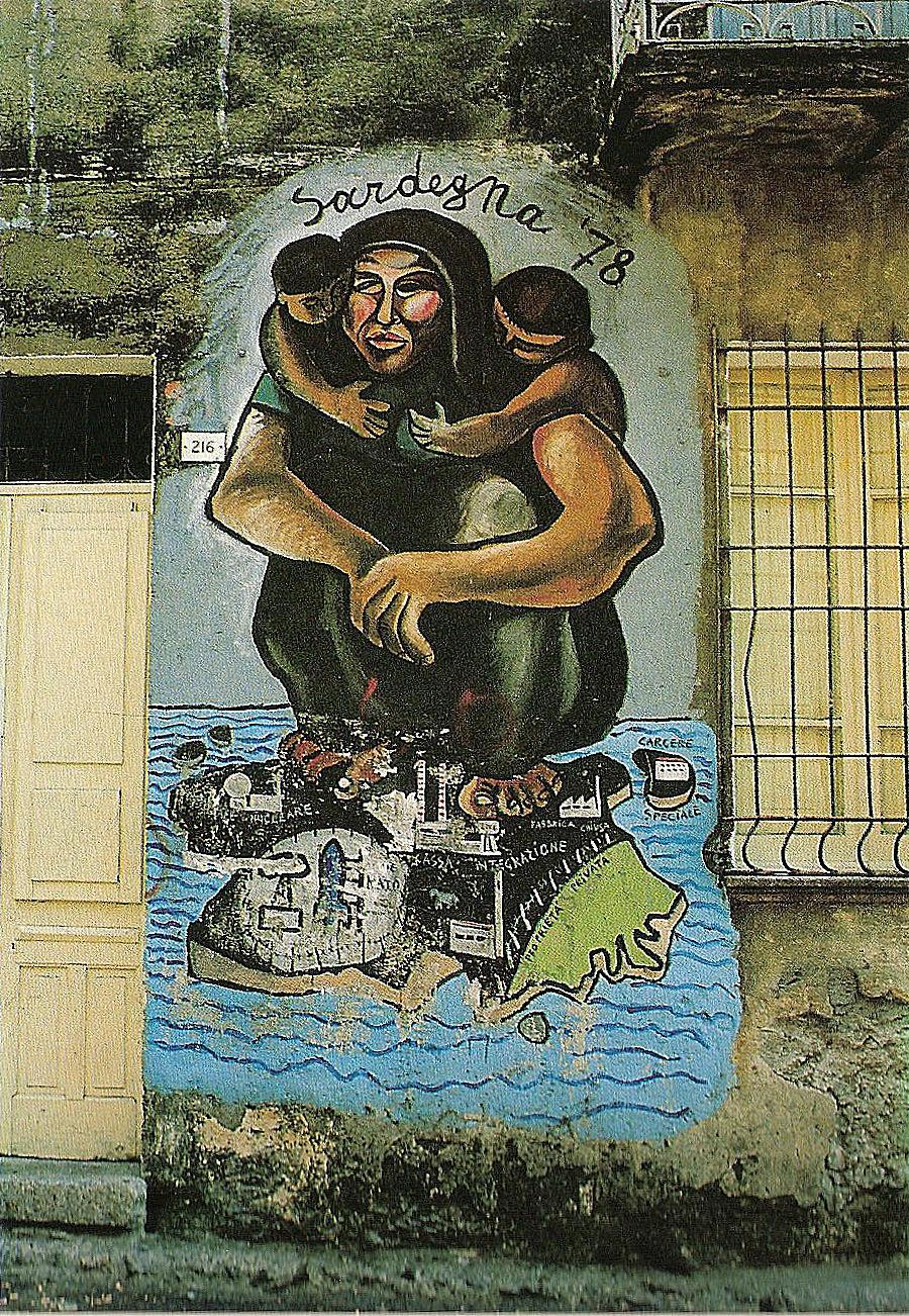 Mural a Orgosolo