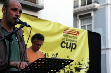 Alternativa per València-CUP: 'El major repte és enfortir aquests espais d'unitat popular des d'on hem sorgit'