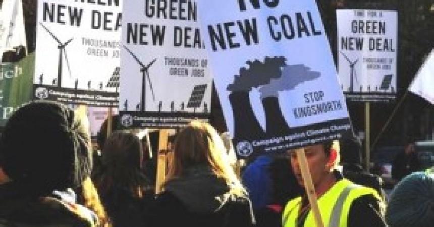 El Green New Deal, el salvavides  verd