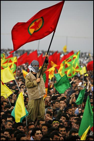 Celebració del Newroz fa un any a Amed. Foto: Oriol Clavera