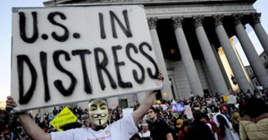 La indignació també esclata als EUA: 'Som el 99% i no ens mantindrem en silenci'