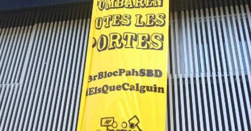 Ocupació de pisos per a desnonats a Sabadell