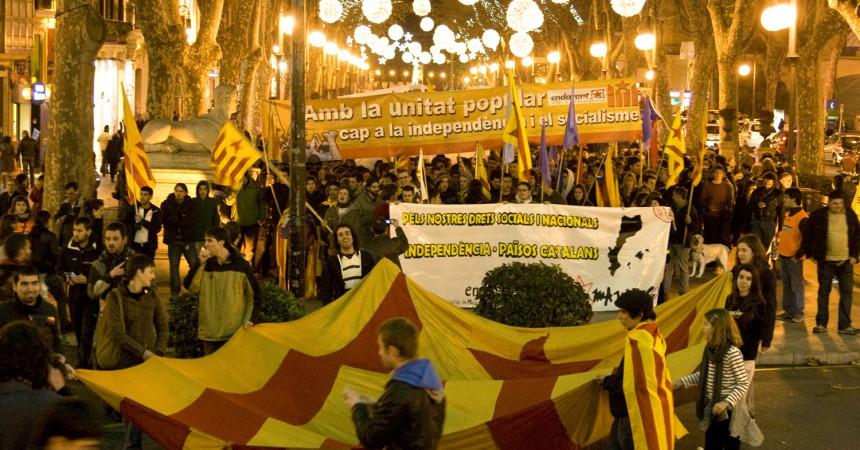 La Policia cerca caps de turc pels aldarulls que es van produir a Palma arran de la càrrega contra la manifestació de la Diada de Mallorca