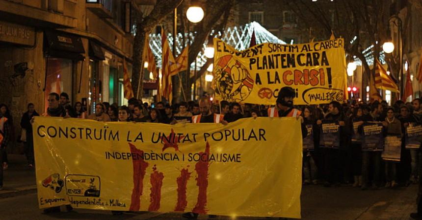 Els 4 independentistes de Mallorca treuen pit davant l'amenaça de 9 anys de presó